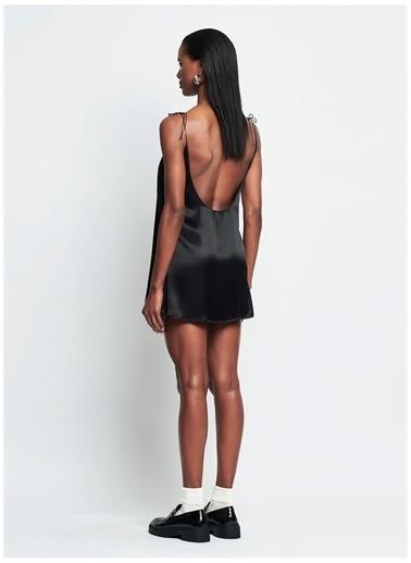 Iamnotbasic IAMNOTBASIC Kadın Siyah Dolly Elbise Siyah